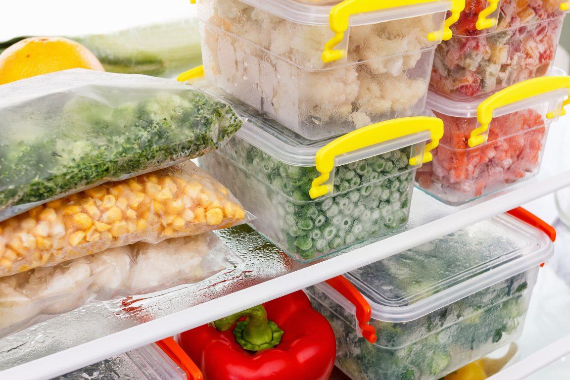 Refrigerated veggies